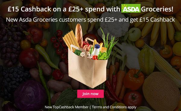 Asda Groceries- TopCashback