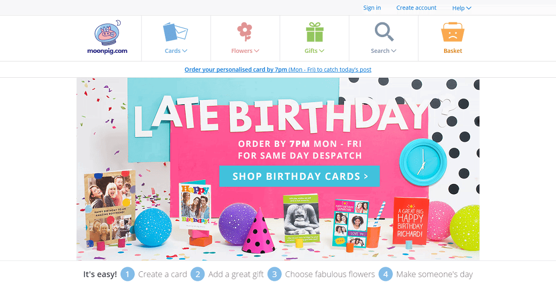 For all those summer occasions, where better to find a card than at the online personalised service Moonpig? For birthdays, anniversaries and other occasions, you can use a Moonpig voucher code from vouchercloud to save on its extensive offering.