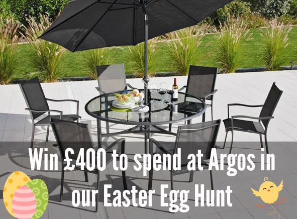 home and garden easter egg hunt win 400 to spend at argos. Black Bedroom Furniture Sets. Home Design Ideas