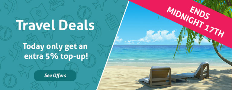 TopCashback Travel Bonus - 1 Day Only