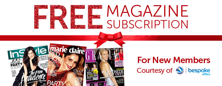 Free Magazine Subscription